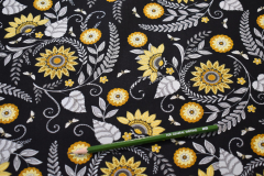 Black-Paisley-Bee-Grateful-Cotton-scaled